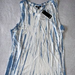 Premise Blue and White Tank
